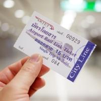 通車體驗–Suvarnabhumi Airport Link(Ramkhamhaeng Station)