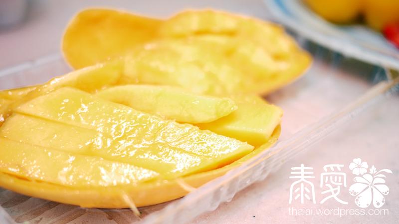 泰式香芒小炒材料