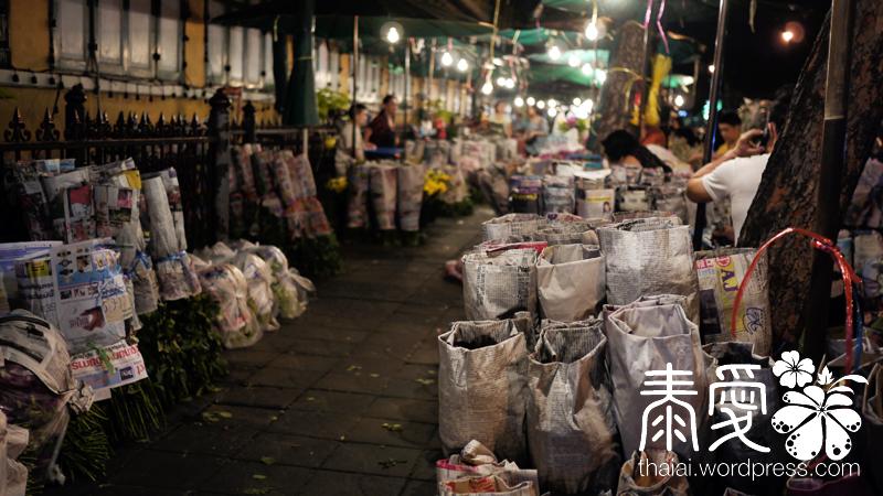 Saphan Phut flower market