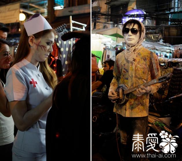 Halloween@Khao San Rd 2012